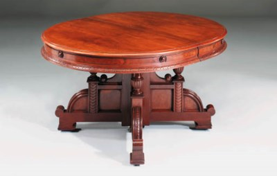 A Victorian walnut and burr-wa