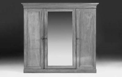 A Victorian mahogany wardrobe
