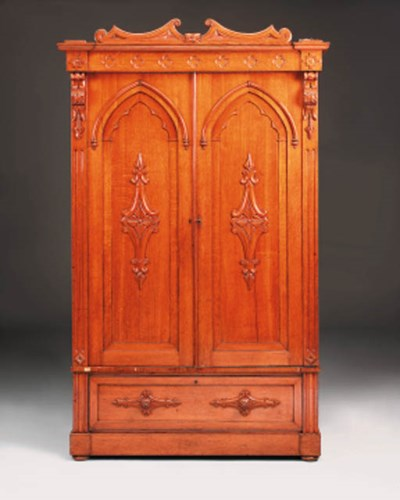 An early Victorian Gothic oak