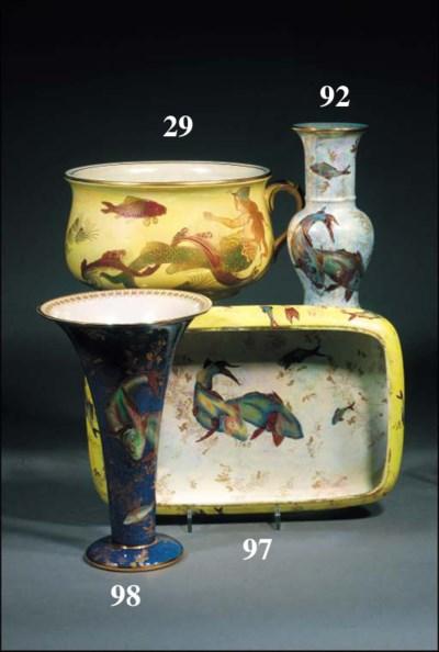 A Crown Devon chamber pot