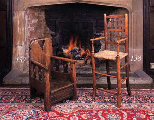 An ash child's high chair, Che