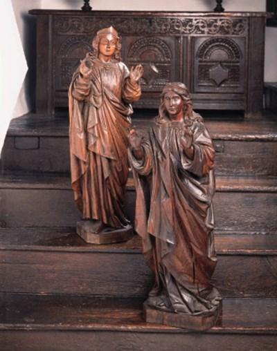 A pair of North European carve