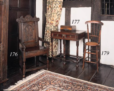 A Victorian coromandel workbox