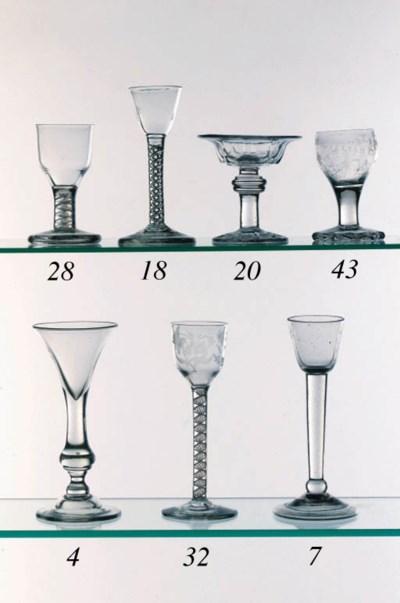 An airtwist cordial glass