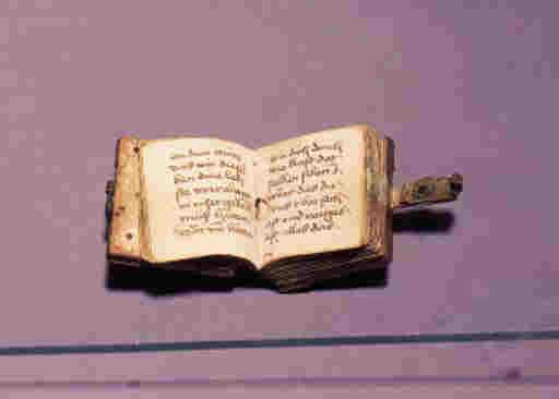 PRAYERBOOK, in German, illumin