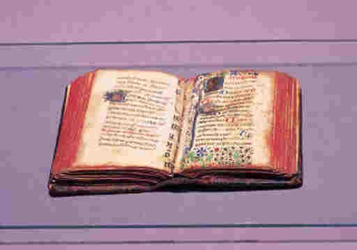 BOOK OF HOURS, in Latin, illum