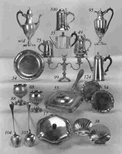 A George III teapot,