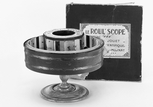 Roul'scope praxinoscope
