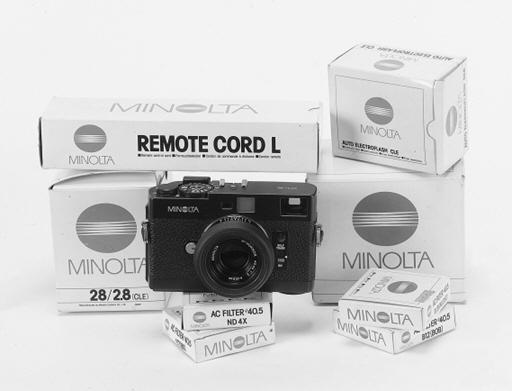 Minolta CLE no. 1027217