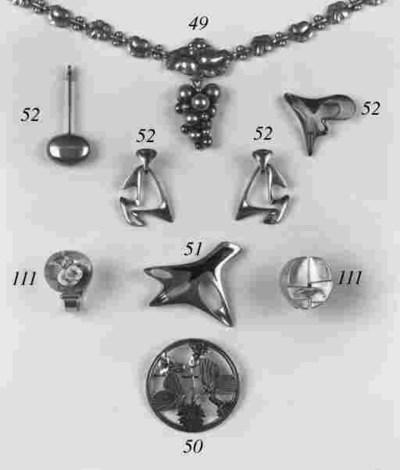 A Georg Jensen necklace,