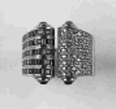 A diamond and ruby dress ring,