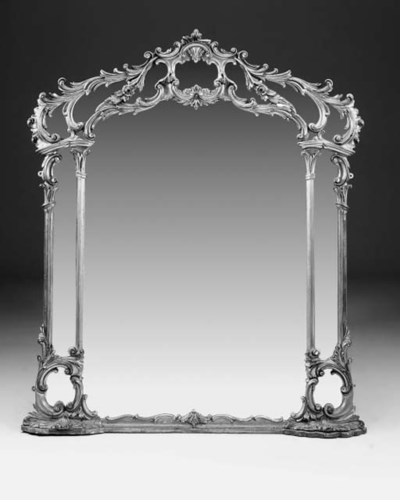 A carved and gilt composition