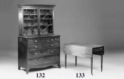 A mahogany Pembroke table, ear
