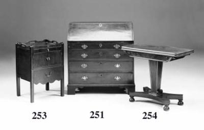 A George IV mahogany tea table