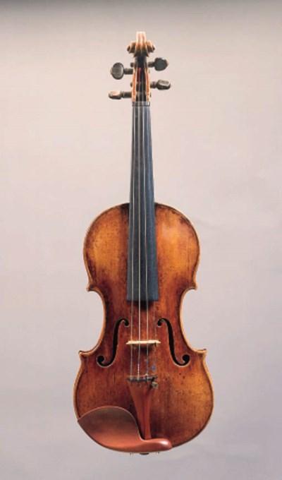 An Italian violin by Sanctus S