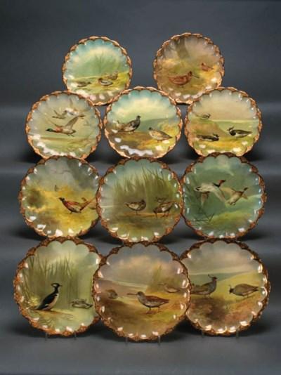 Eleven Royal Doulton porcelain