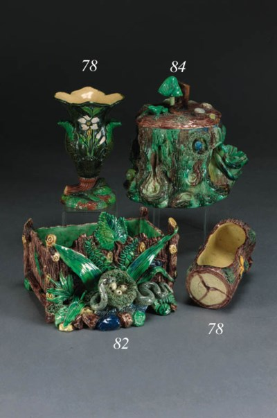 A French Palissy style tobacco
