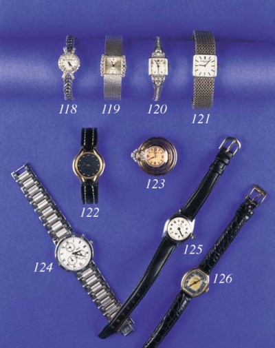 ROLEX, A LADY'S STAINLESS STEE