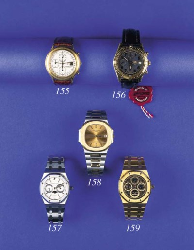 PATEK PHILIPPE, A GOLD AND STE
