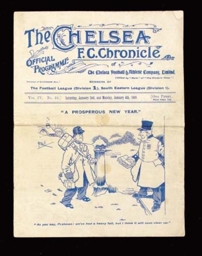 Chelsea v. Liverpool, match pr