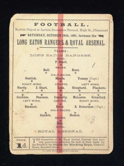 London Eaton Rangers v. Royal