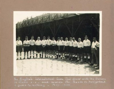 A sepia black and white team p