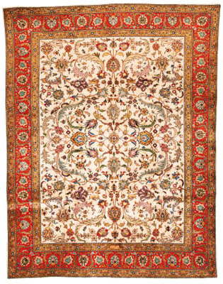 A fine Alaii Tabriz carpet, No