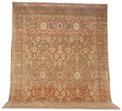 A fine Indo-Tabriz carpet