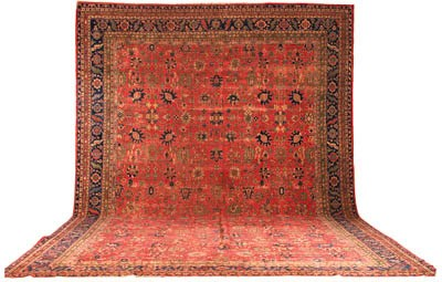A massive Sparta carpet, Turke