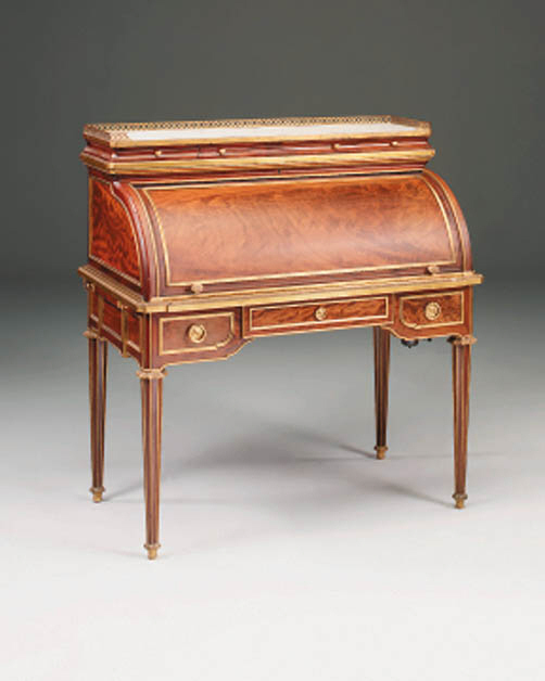 A mahogany and brass mounted c
