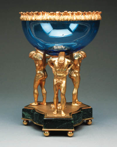 A gilt bronze mounted table ce