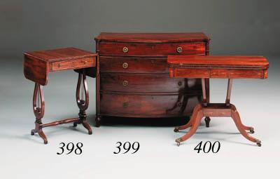 A Regency kingwood and inlaid