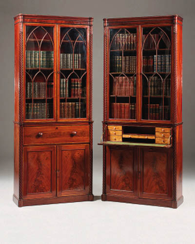 a companion pair of early 19th