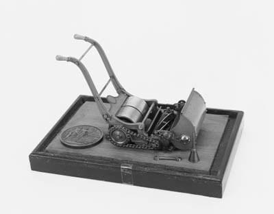 A model lawn-mower