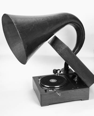 An EMG Mark IX gramophone