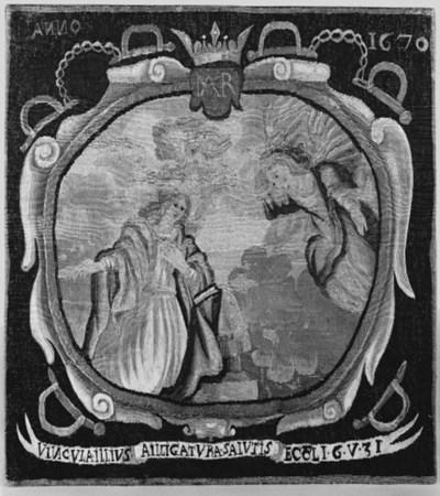 A Flemish Biblical tapestry pa
