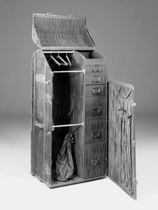 A travelling trunk, early 20th century