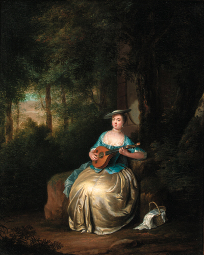 Attributed to Karl Anton Hickel (1745-1798)