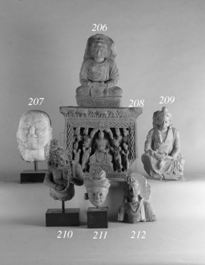 A Gandharan fragmentary grey s