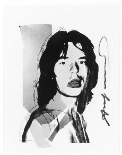 Andy Warhol/Mick Jagger