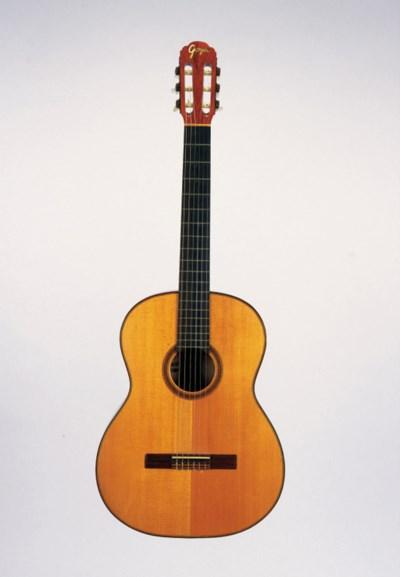 A Goya classical guitar