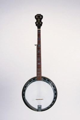 A Conrad five-string banjo