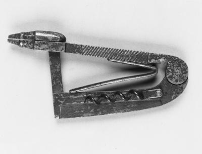 A 19th century steel combinati
