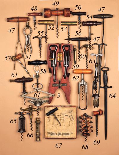 A McBrides patent corkscrew,