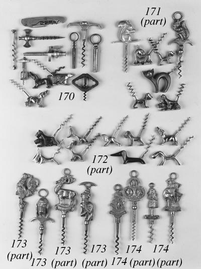 Eighteen novelty animal corksc