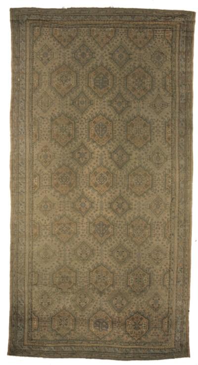 A massive Ushak carpet