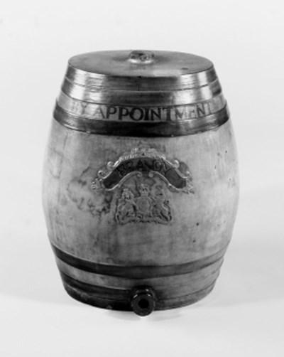 Two pairs of stoneware liquor