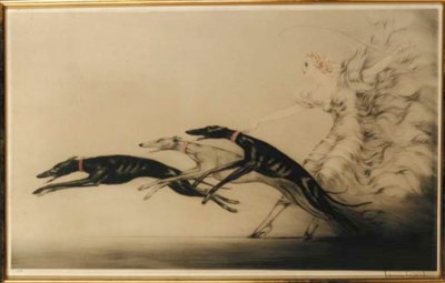'Speed II' by Louis Icart