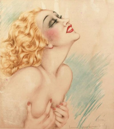'Ecstasy' by Louis Icart