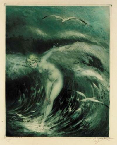 'Venus in the Waves' by Louis